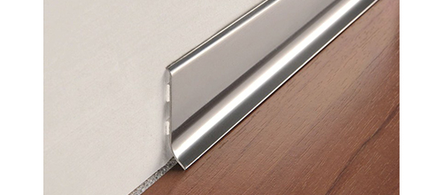 Plinta minimalista inox lucios Progress Skirting 40 BTAC